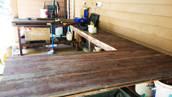 U-shaped-workbench