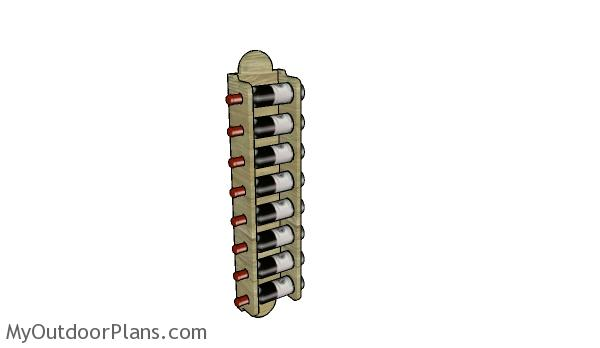 Wall Wine Rack Plans