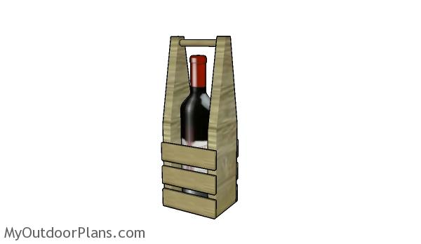 DIY Wood Wine Caddy Plans