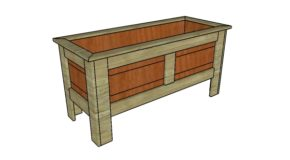 Wood Planter Box Plans