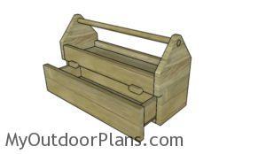 Wood Tool Caddy Plans