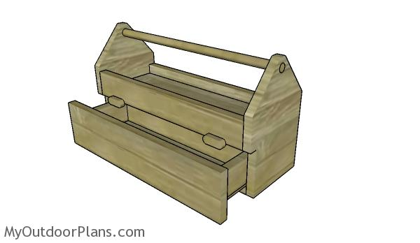Wood Tool Caddy Plans