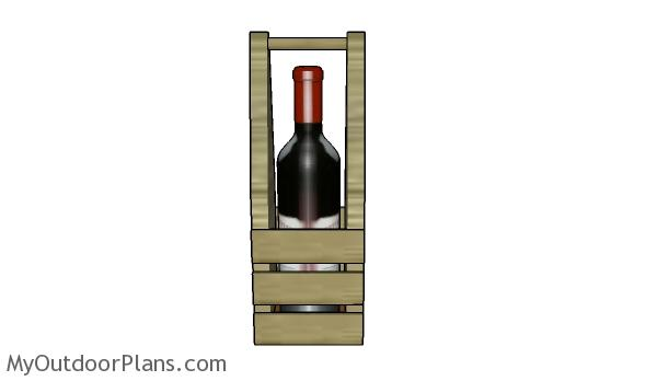 Wood wine caddy plans