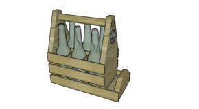 Wooden Six Pack Holder Plans
