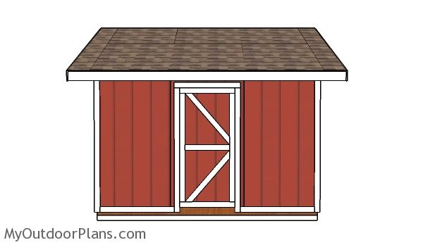 Shed Door and Trims Plans