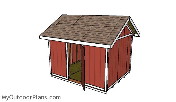 10x12 Shed Plans. 10x12 Shed Plans   MyOutdoorPlans   Free Woodworking Plans and