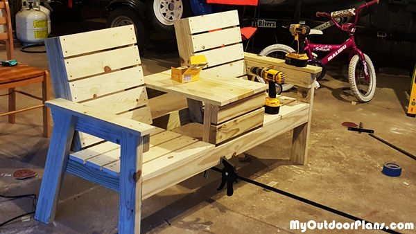 Build A Double Chair Bench Myoutdoorplans Free