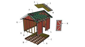 10×12 Shed Roof Plans