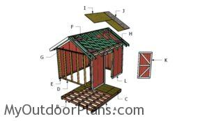 Building a 10x12 outdoor shed