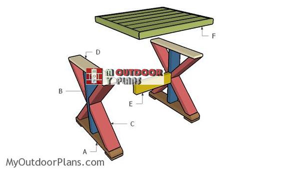 Building-a-farmhouse-side-table