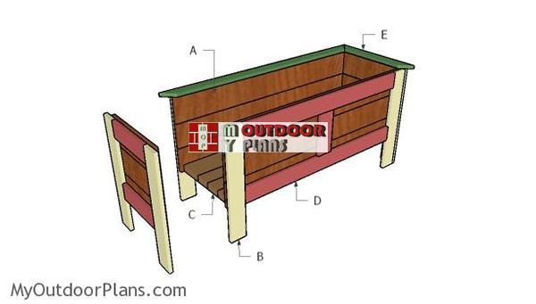 Building-a-wood-planter-box