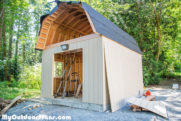 DIY 12×16 Barn Shed