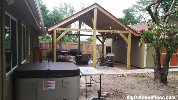 DIY 16x16 Pavilion