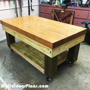 DIY-Heavy-duty-workbench