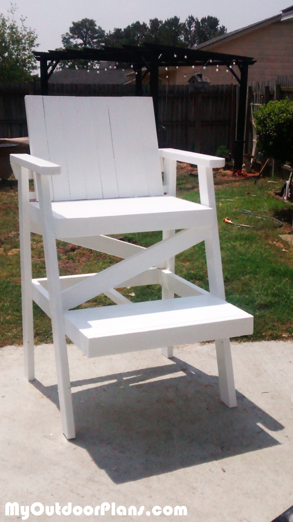 DIY-Lifeguard-Chair-Plans