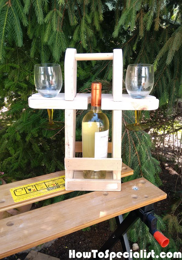 DIY Picnic Caddy | MyOutdoorPlans | Free Woodworking Plans ...