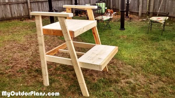 Diy Lifeguard Chair Myoutdoorplans Free Woodworking
