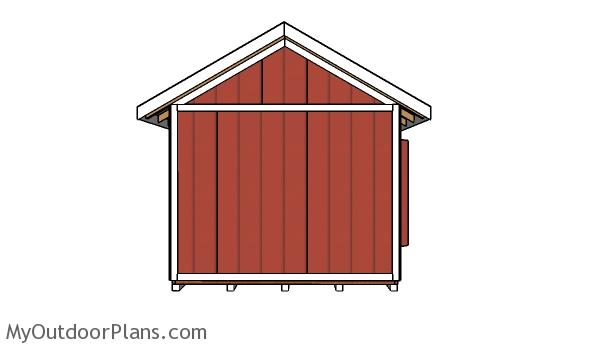 Gable Garden Shed Plans