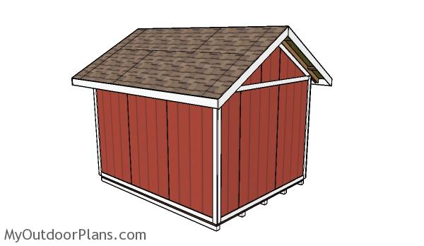 How to build a 10x12 shed