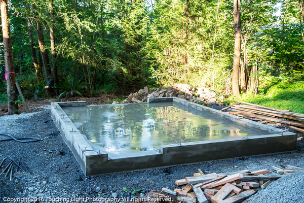 Pouring-the-concrete-slab-for-the-shed