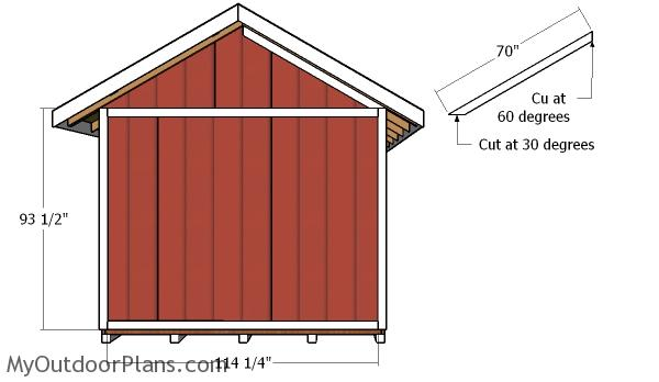 Side walls trims