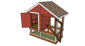 4×8 Chicken Coop Plans