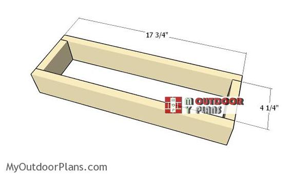 Assembling-the-frame-of-the-drawer