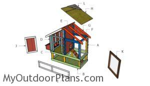 Building a 4x8 chicken coop