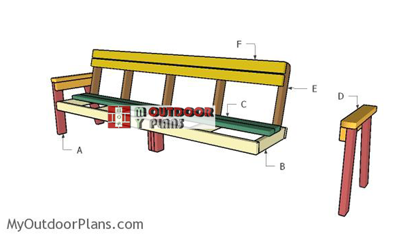 Building-a-8-ft-bench