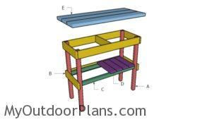 Building a bbq table