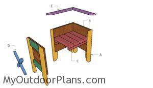 Building a square planter box