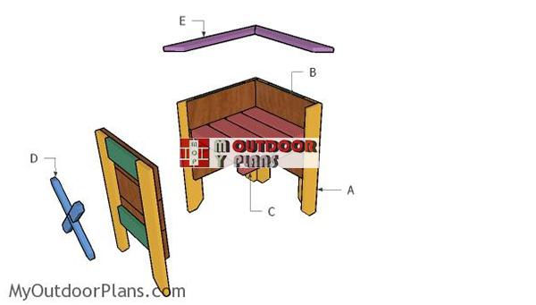 Building-a-square-planter