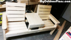 Building-a-wood-bench-with-table