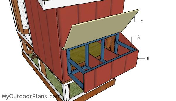 chicken coop nesting boxes plans myoutdoorplans free woodworking plans and projects diy