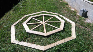 Building-the-benches-for-the-octagonal-picnic-table