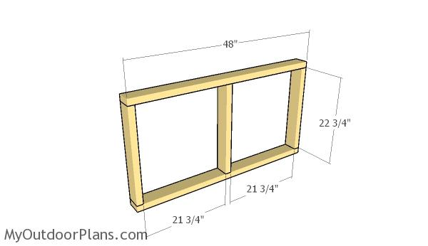 Building the top frame