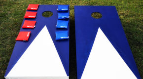 DIY Cornhole Game Boards