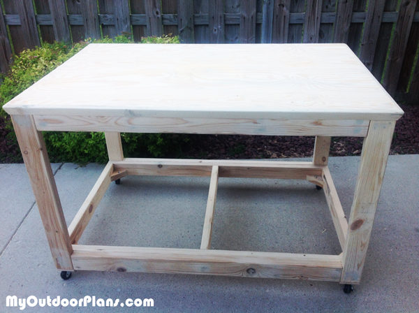 diy portable workbench myoutdoorplans  woodworking plans  projects diy shed wooden