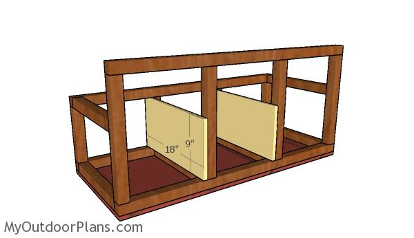 Do It Yourself Home Design: Chicken Coop Nesting Boxes Plans