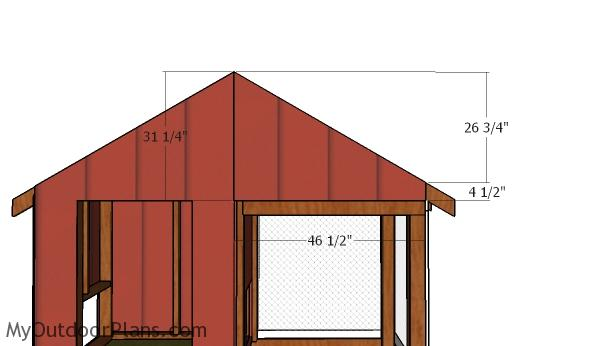 Fitting the right gable end