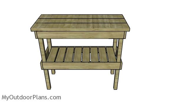 How to build a bbq table