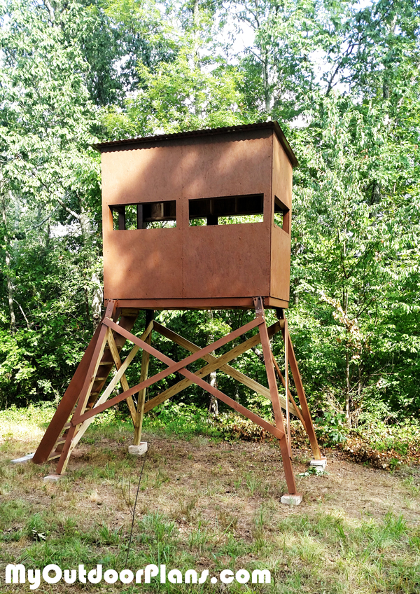 How to build an elevated deer stand