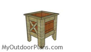 Square Planter Box Plans