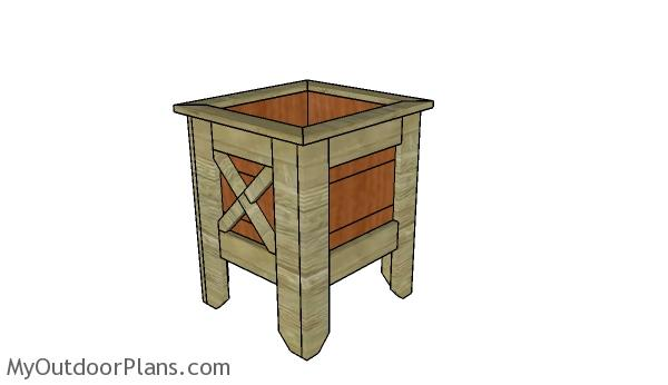 Square Planter Box Plans