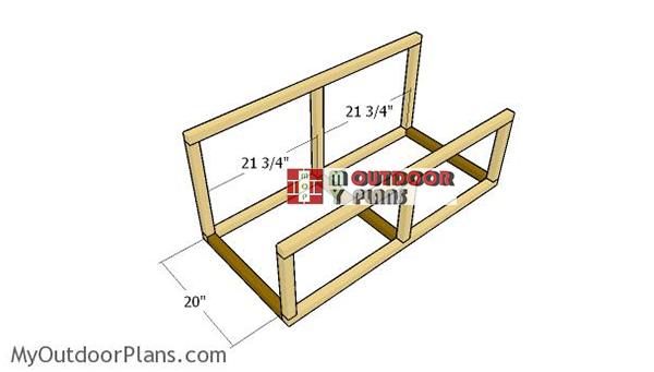 Assembling-the-nesting-box-frame