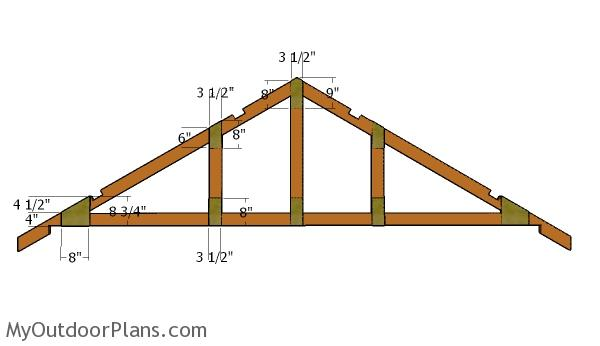 Free 12x16 shed roof plans myoutdoorplans free for How to order roof trusses