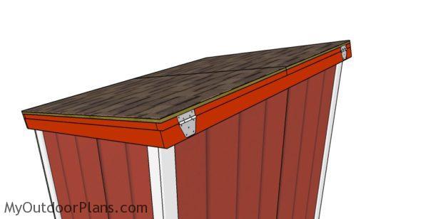 Large Generator Shed Roof Plans Myoutdoorplans Free