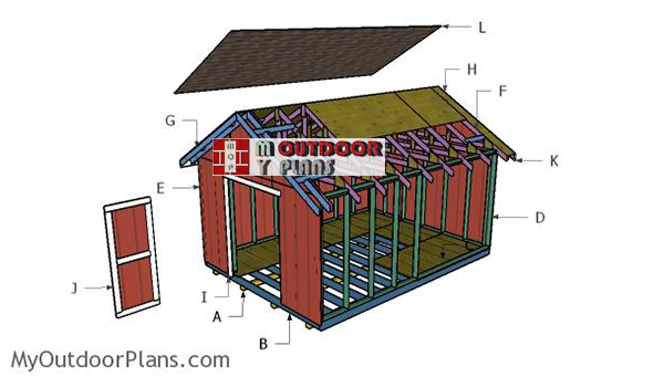Building-a-12x16-shed