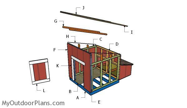 Building a duck house