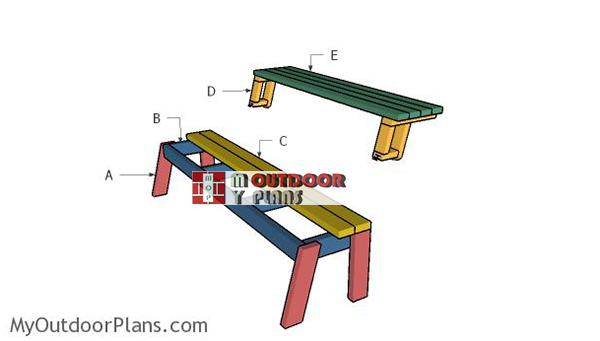 Building-a-folding-picnic-table
